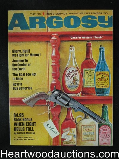 "Argosy Sep 1966 Alistair Maclean""When the 8 Bells Toll"