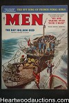 Men May 1959 Mort Kunstler Cvr, George Gross, South Seas, WWII, Penal Girls - High Grade- NAPA