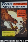 True Adventures Mar 1956 Walter Popp Cvr, Rossi, Greene, bondage art - Ultra High Grade- NAPA