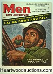 Men Mar 1957 Goerge Gross, James Bama, Kunstler Cover, Valigursky, Al Rossi, Henry Kane