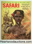 Safari Jan 1956 Tom Beecham Cvr, Bertram Walsh;  Sarnoff; Schiller; Allen