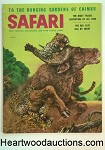 Safari Feb 1957 Robert Doares; Jay Weaver; Doug Allen; Elbert Hawley; Roger Flynn