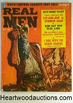 Real Men Oct 1958 Vic Prezio Cvr, Wounded Knee