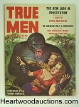 True Men Oct 1956 Giant Gorilla assaults GGA Cvr, Cindy Lind
