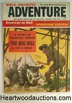 Adventure May 1956 Mort Kunstler Cvr, Arab Bedouin fighters, WWII