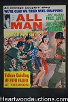 All Man Apr 1965 Hitler Nazis, Wife-swapping, Marie D'Aubrey, Morro Castle - High Grade- NAPA
