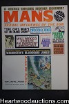 Man's Aug 1963 Lawrence Block, TV Route 66 George Maharis, Mel Crair - High Grade- NAPA
