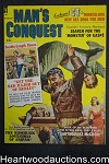 Man's Conquest Aug 1960 Santo sorrentino; Wenzel,Cold War story