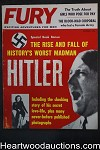 Fury Dec 1961 Eve Grant, WWII, The Rise and Fall of Hitler - High Grade- NAPA