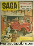 Saga Jul 1955 Joan Collins 4 pgs; Jack Hearne Cvr.; WWII/Korean War Article
