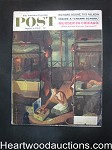 Saturday Evening Post Aug 6, 1960 Hugh Cave, Amos Sewell