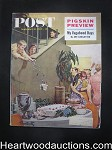 Saturday Evening Post Sep 10, 1960 Football Preview, Martha Albrand
