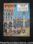 Saturday Evening Post Jun 10, 1961 Rex Stout Nero Wolfe, Amos Sewell Cvr,