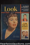 Look Jan 29, 1952 Ingrid Bergman, Martin & Lewis, Tony Curtis, basketball, WWII - High Grade