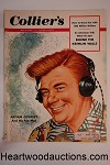 Collier's May 2, 1953 Arthur Godfrey feature, Camel cigarettes ad, Studebaker ad
