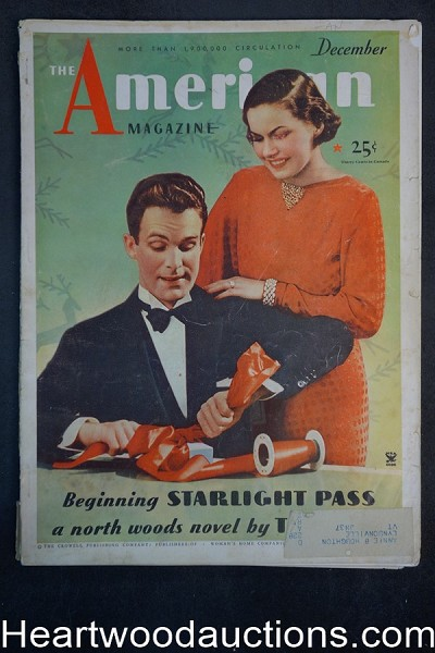 "American Dec 1934 Max Brand ""The Sun Stood Still"""