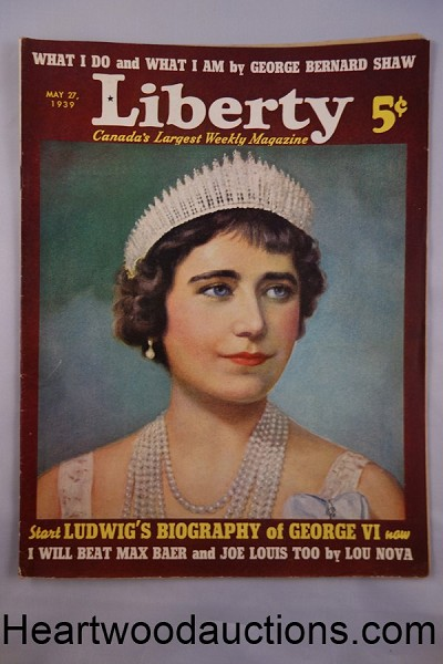 Liberty May 27, 1939 Corinne Malvern cover