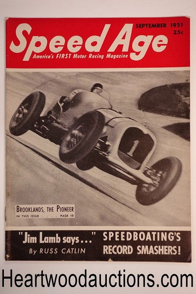 Speed Age Sep 1951