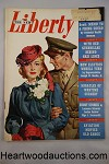 Liberty May 1, 1943 WWII; Frank Bensing Cvr - High Grade