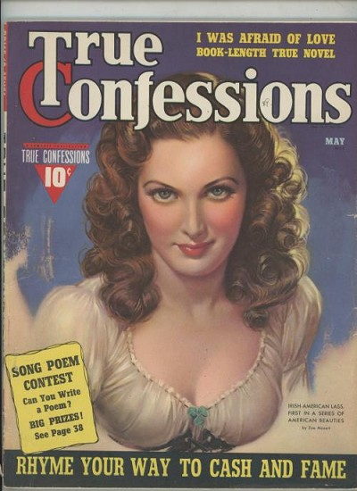 True Confessions May 1940 GGA Cover