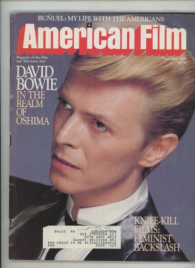American Film Sep 1983 David Bowie Cover