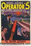 Operator #5 Jun 1934 John Howitt Cover; J. Fleming Gould Int. Art - High Grade