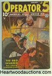 Operator #5 Jan 1935 John Howitt Cover; J. Fleming Gould - Int. Art