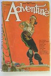 Adventure Nov 20, 1921 Arthur Schwieder Cover; W.C. Tuttle
