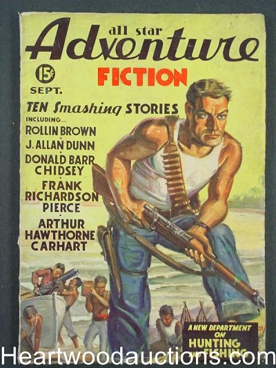 """All Star Adventure Fiction"" September 1935"