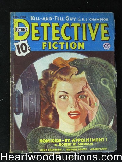 """Detective Fiction"" December 1943 The Saint"