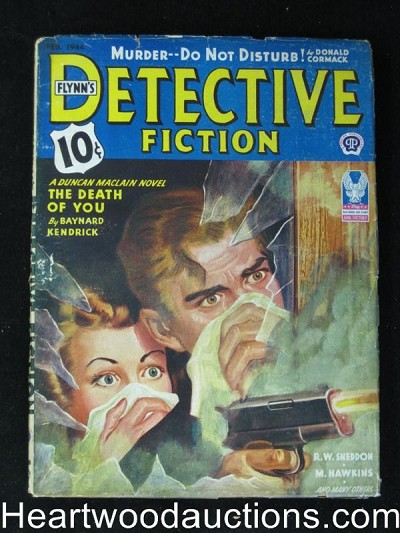 """Detective Fiction"" February 1944"