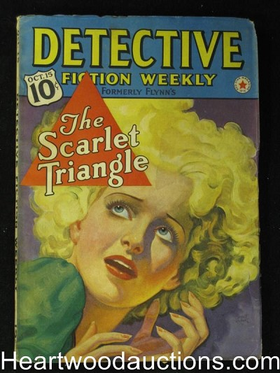 """Detective Fiction Weekly"" October 15 1938"
