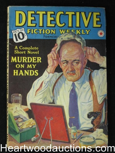 """Detective Fiction Weekly"" October 22 1938"