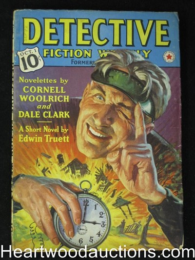 """Detective Fiction Weekly"" October 1 1938"