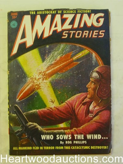 """Amazing Stories"" June 1951"
