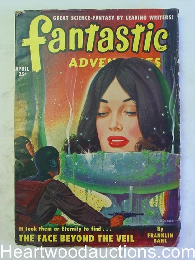 """Fantastic Adventures"" April 1950 1st Mack Reynolds"