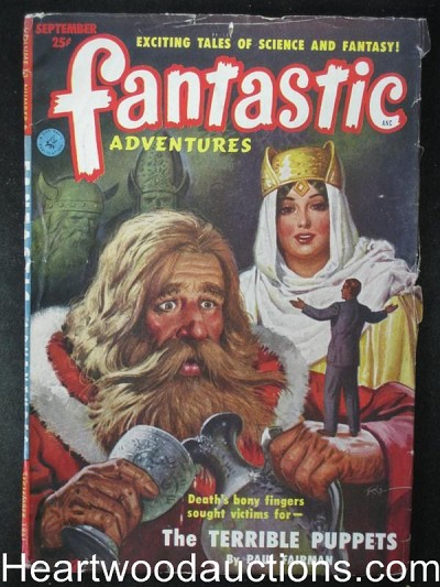 """Fantastic Adventures"" September 1951"
