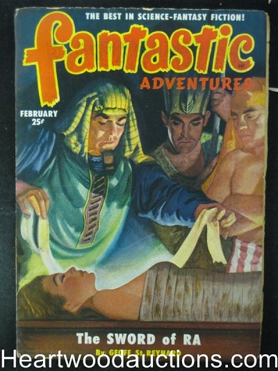 """Fantastic Adventures"" February 1951  Sword of Ra"