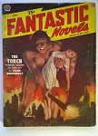 Fantastic Novels Apr  1951 Giant Kidnaps Girl GGA Cvr