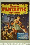 Famous Fantastic Mysteries Aug 1950 H.G. Wells Time Machine