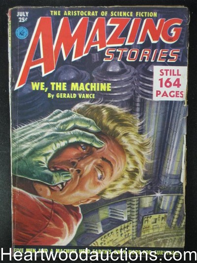"""Amazing Stories"" July 1951"