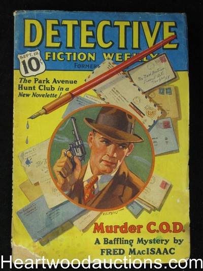 """Detective Fiction Weekly"" September 18 1937"