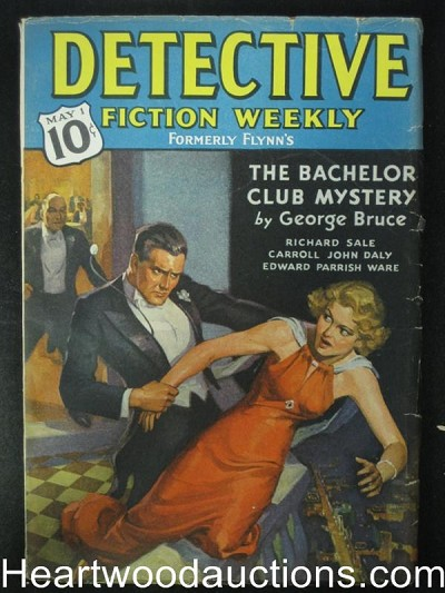 """Detective Fiction Weekly"" May 1 1937 C.J. Daly- Hgh Grade"