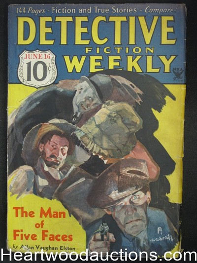 """Detective Fiction Weekly"" June 16 1934"