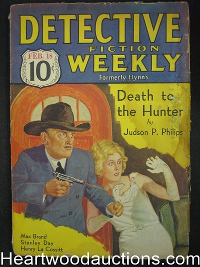 Detective Fiction Weekly Feb 18 1933 Erle Stanley Gardner
