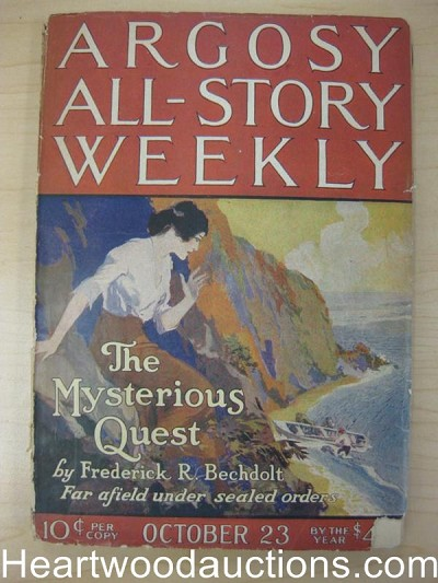 """Argosy All-Story Weekly"" October 23 1920"