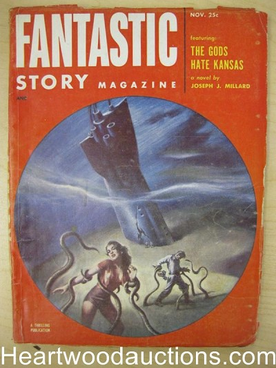 """Fantastic Story"" November 1952"
