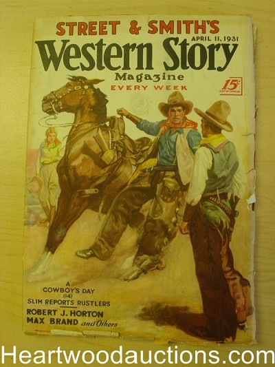 """Western Story"" April 11 1931"