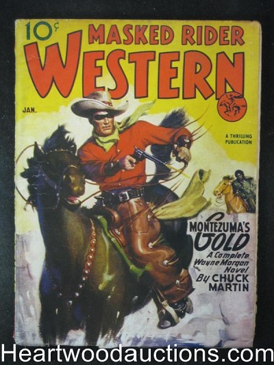 """Masked Rider Western"" January 1946"