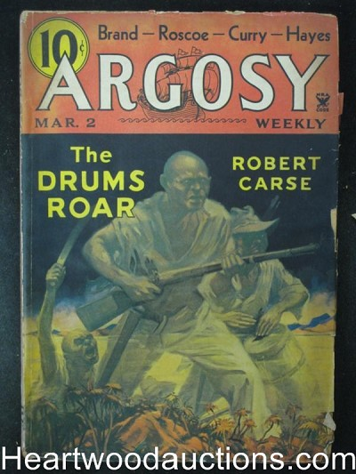"""Argosy"" March 2 1935 Singapore Sammy, Worts, Brand"